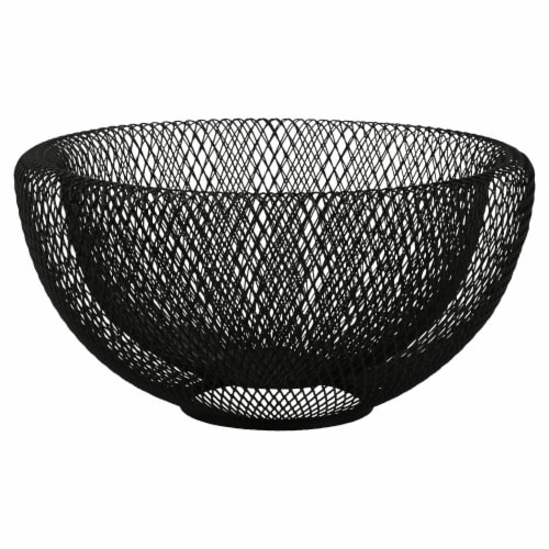 Dip™ Small Wire Mesh Bowl - Black Perspective: front