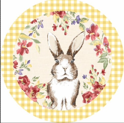 Lintex Meadow Bunny Placemat Perspective: front