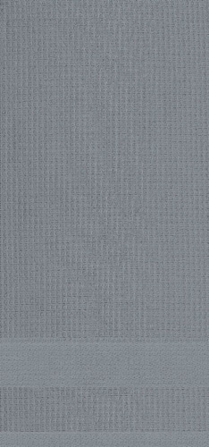 Dash of That Woven Waffle Kitchen Towel Set - Gray Perspective: front