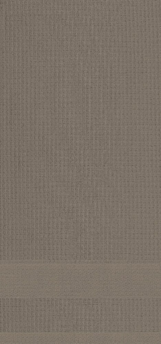 Dash of That Woven Waffle Kitchen Towel Set - Taupe Perspective: front