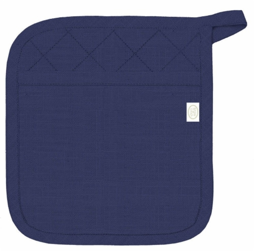 Dash of That™ Pocket Mitt - Blue Perspective: front