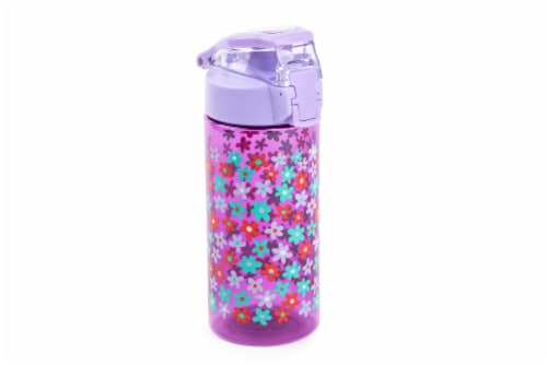 Everyday Living Hydration Bottle - Flower Perspective: front