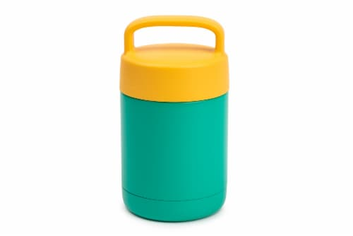 Everyday Living Food Storage Container - Green/Yellow Perspective: front