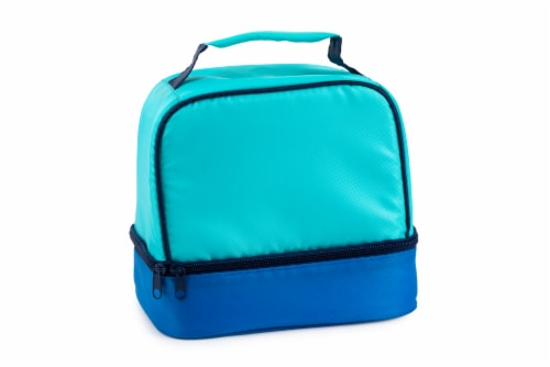 Everyday Living Colorblock Lunch Box - Blue Perspective: front