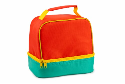 Everyday Living Colorblock Lunch Box - Orange Perspective: front