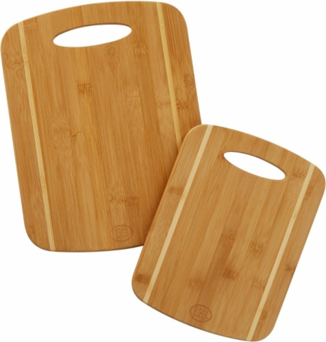 Dash of That™ Bamboo Cutting Boards - Natural Perspective: front