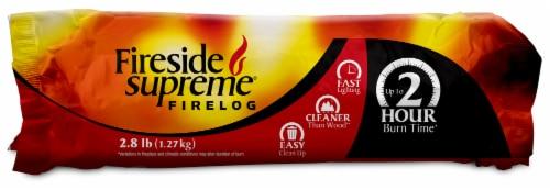 Fireside Supreme® 2 Hour Firelog Perspective: front
