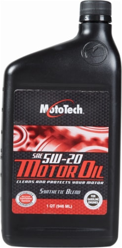 Moto Tech® 5W-20 Motor Oil Perspective: front