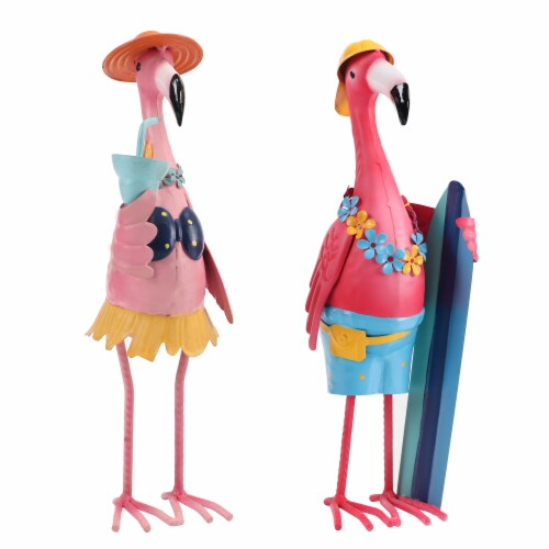 HD Designs Outdoors Beach Party Flamingo - Assorted Perspective: front