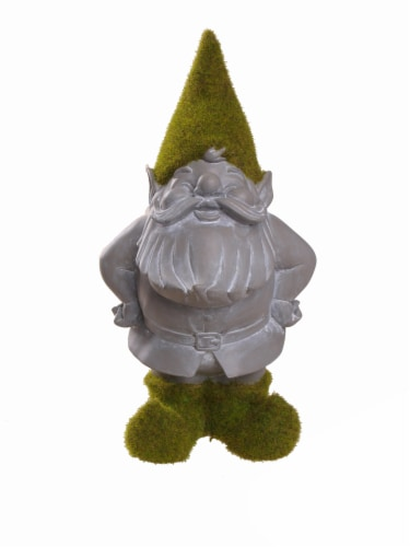 HD Designs Outdoors Mossy Gnome Decoration - Assorted Perspective: front