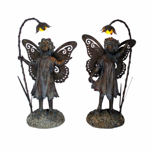 The Joy of Gardening® Solar Fairy Decor - Assorted Perspective: front
