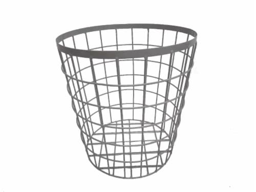 HD Designs Small Wire Basket - Gray Perspective: front