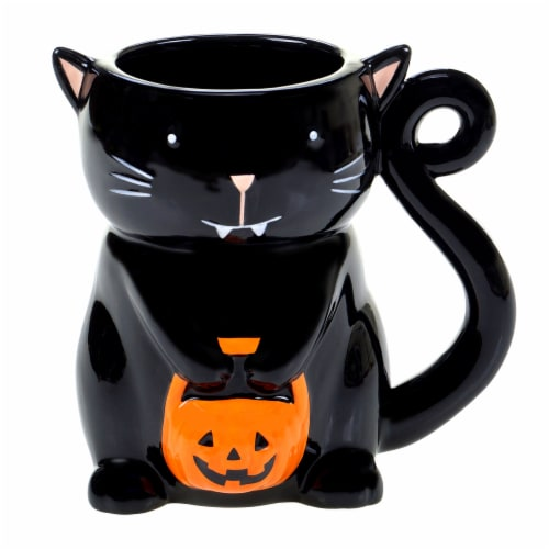 Holiday Home 20 oz 3D Mug - Kitten Perspective: front