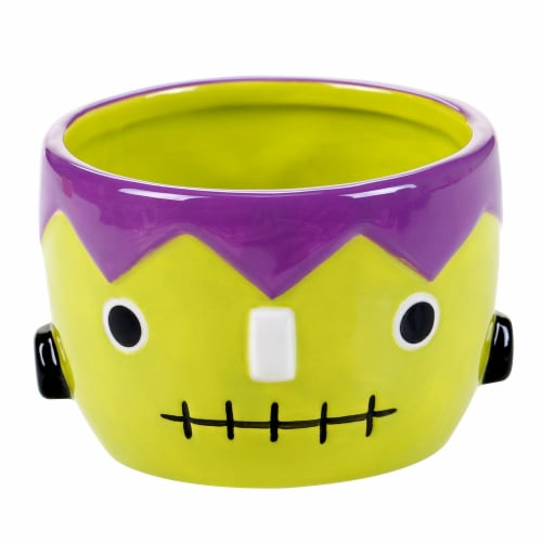 Holiday Home Candy & Tidbit Bowl - Frankenstein Perspective: front