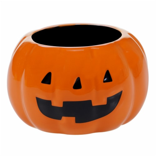 Holiday Home Candy & Tidbit Bowl - Pumpkin Perspective: front