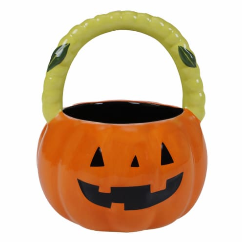 Holiday Home Candy Basket - Pumpkin Perspective: front