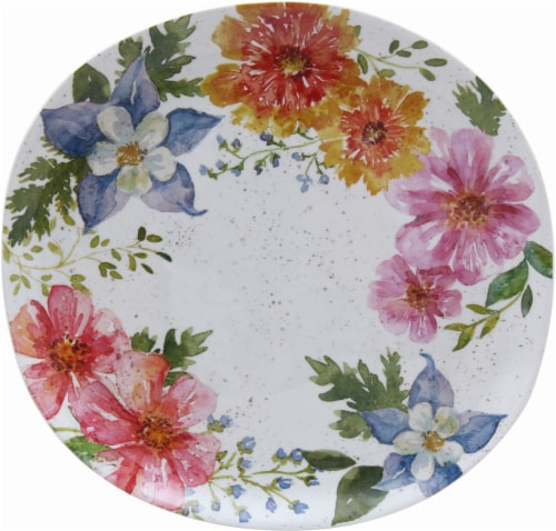 Dash of That Vintage Chic Melamine Dinner Plate - Multi-Color - 11.25 Inch Perspective  sc 1 st  Kroger & Kroger - Dash of That Vintage Chic Melamine Dinner Plate - Multi ...