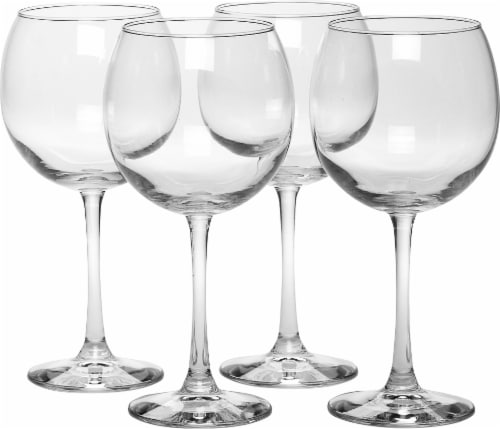 Dash of That Midtown Red Wine Glasses - 4 Pack Perspective: front