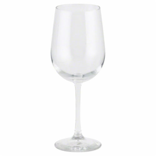 Libbey Midtown White Wine Glass - Clear Perspective: front