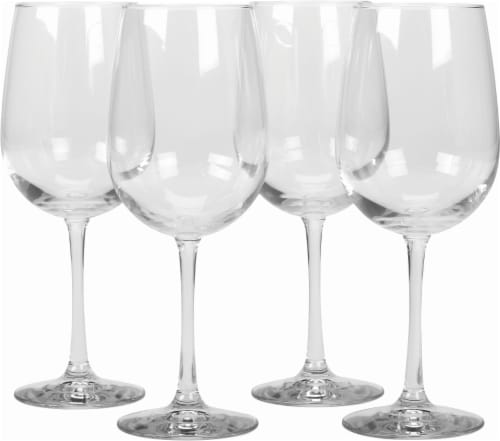 Dash of That Midtown White Wine Glasses - 4 Pack Perspective: front