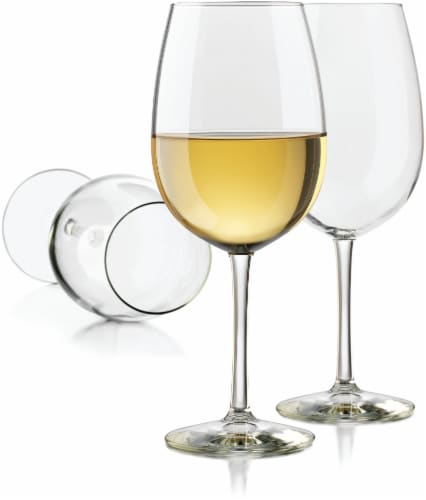 Dash of That White Wine Glassware Set Perspective: front