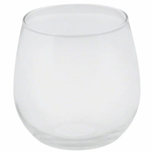 Dash of That Vina Stemless Red Wine Glass Perspective: front