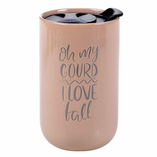 Holiday Home Coffee Mug - Oh My Gourd Perspective: front