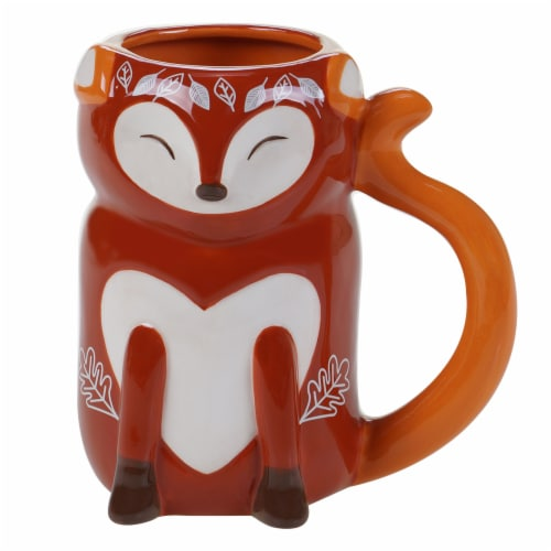 Holiday Home 3D Mug - Fox Perspective: front
