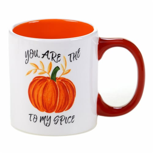 Holiday Home Novelty Mug - Pumpkin To My Spice Perspective: front