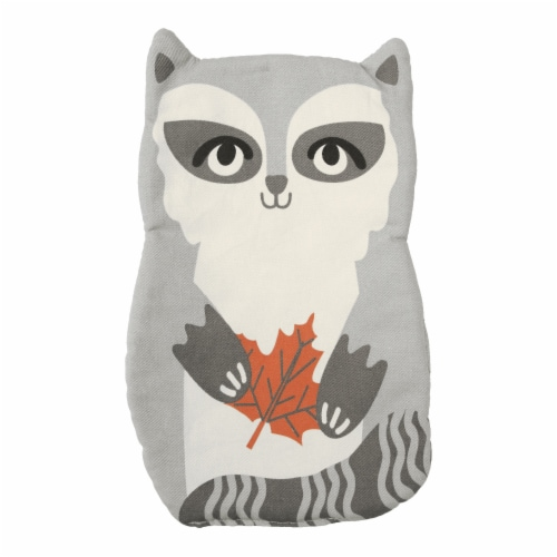 Shaped Pot Holder - Raccoon Perspective: front
