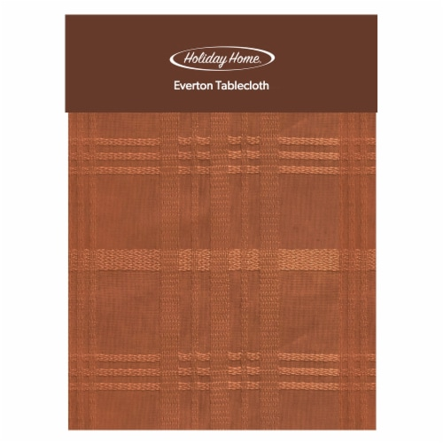 Holiday Home® Everton Plaid Tablecloth Perspective: front