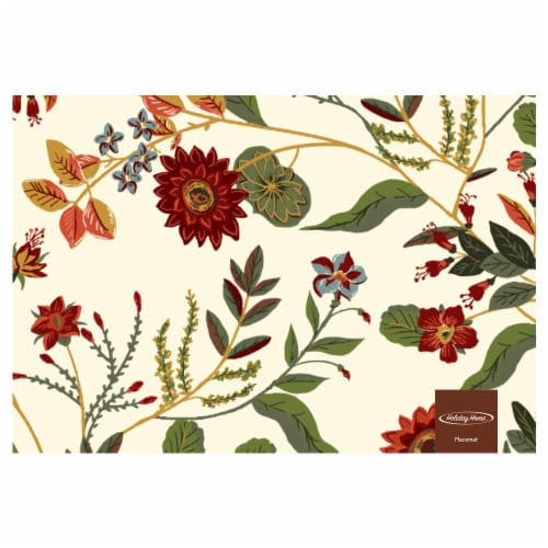Holiday Home Regal Harvest Placemat Perspective: front