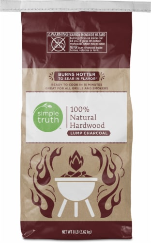 Simple Truth™ 100% Natural Hardwood Lump Charcoal Perspective: front