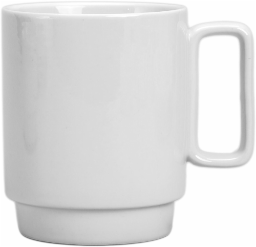 Dash of That™ Strato Stack Mug - White Perspective: front