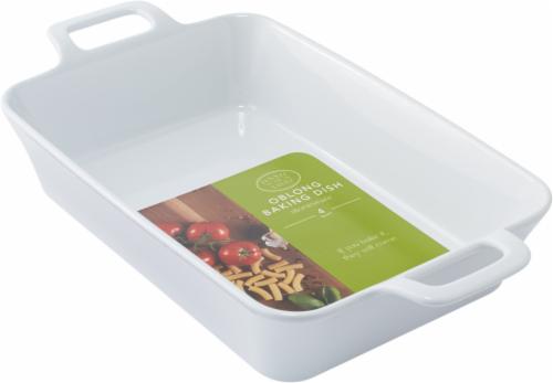 Dash of That™ Rectangular Stoneware Baking Dish - White Perspective: front