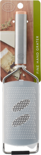 Dash of That™ Fine Hand Grater with Sheath Perspective: front