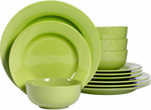 Dash of That Amalfi Dinnerware Set - Lime Perspective front  sc 1 st  Kroger : kroger dinnerware - pezcame.com