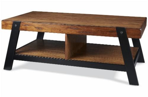 HD Designs® Kenya Coffee Table - Brown/Black Perspective: front