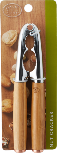Dash of That™ Nut Cracker - Natural/Silver Perspective: front