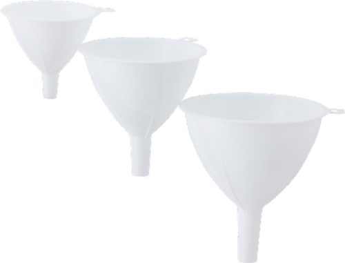 Everyday Living Funnel Set - White Perspective: front