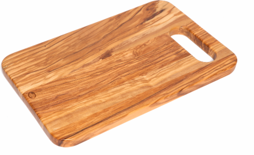 Dash of That™ Cutting Board - Natural Perspective: front