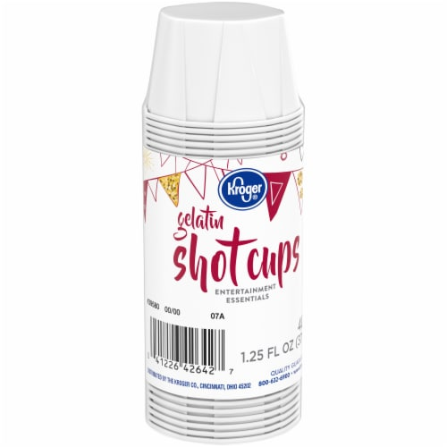 Kroger® Entertainment Essentials Gelatin Shot Cups Perspective: front
