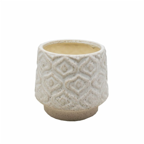 HD Designs® Ceramic Filled Candle - Cream Perspective: front