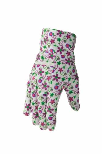 The Joy of Gardening Garden Gloves - Plum Caspia Perspective: front