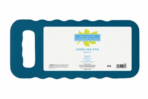 The Joy of Gardening® Standard Kneeling Pad - Blue Sapphire Perspective: front