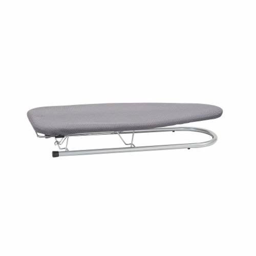 Everyday Living Mesh Table Top Ironing Board and Cover - Silver Perspective: front