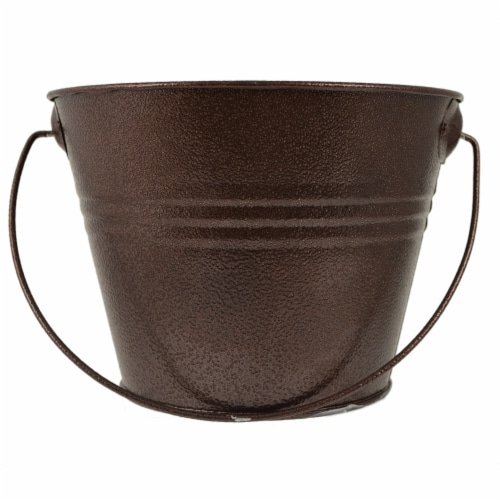 HD Designs Outdoors Citronella Candle Pail - Copper Perspective: front