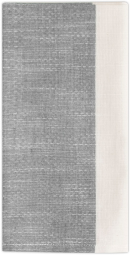 Dip Penelope Placemat - Gray Perspective: front