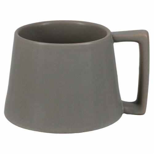 Dip™ Ceramic Mug - Gray Perspective: front