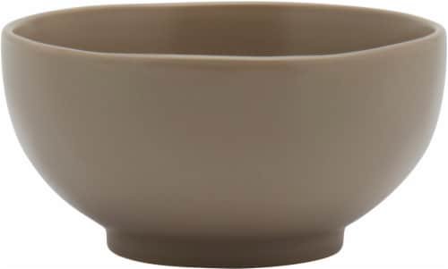 Dip Round Cereal Bowl - Chateau Gray Perspective: front